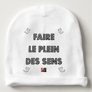 Bonnet De Bébé Faire le PLEIN DES SENS - Jeux de Mots