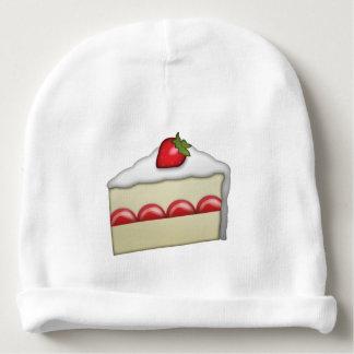 Bonnet De Bébé Gâteau de fraise - Emoji