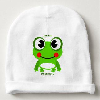 Bonnet De Bébé Grenouille mignonne du bébé de l'enfant
