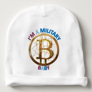 Bonnet De Bébé Habillement militaire de bébé de Bitcoin
