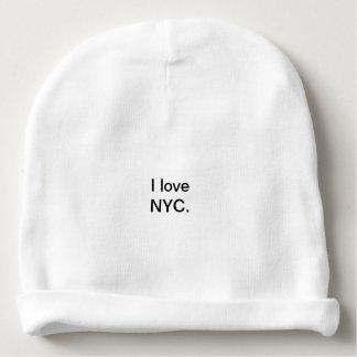 Bonnet De Bébé J'aime le casquette de Beany de NYC