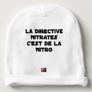 Bonnet De Bébé La Directive Nitrates, c'est de la Nitro - Jeux de
