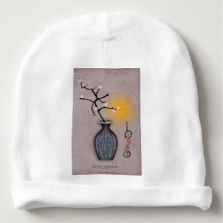 Bonnet De Bébé la lune élégante des fernandes et la fleur de 7