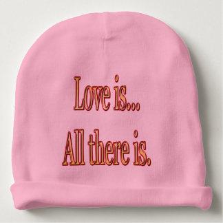 Bonnet De Bébé L'amour est tout là est