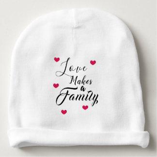 Bonnet De Bébé L'amour fait une famille - adoption d'accueil