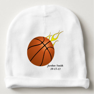 Bonnet De Bébé Le basket-ball du bébé