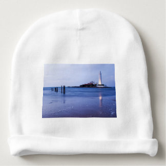 Bonnet De Bébé Le phare de Mary de saint à la baie de Whitley