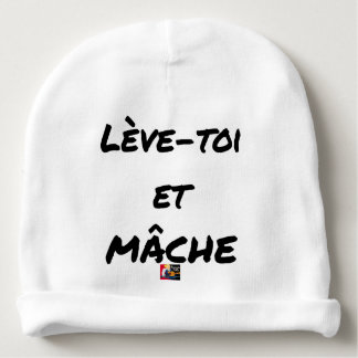 Bonnet De Bébé LÈVE-TOI ET MÂCHE - Jeux de mots - Francois Ville
