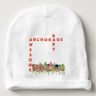 Bonnet De Bébé L'horizon d'Anchorage, Alaska SG-S'est fané gloire