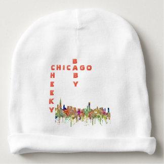 Bonnet De Bébé L'horizon de Chicago, l'Illinois SG-S'est fané