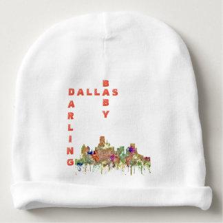 Bonnet De Bébé L'horizon de Dallas, le Texas SG-S'est fané gloire