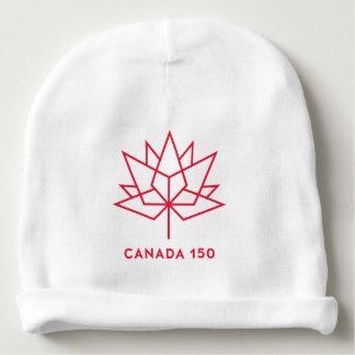Bonnet De Bébé Logo de fonctionnaire du Canada 150 - contour