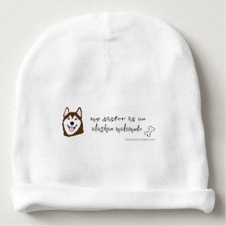 Bonnet De Bébé malamute d'Alaska