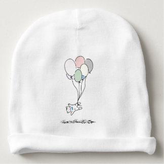 Bonnet De Bébé Ours de bébé se levant avec les ballons à air