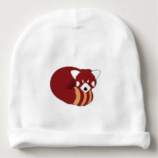 Bonnet De Bébé Panda rouge