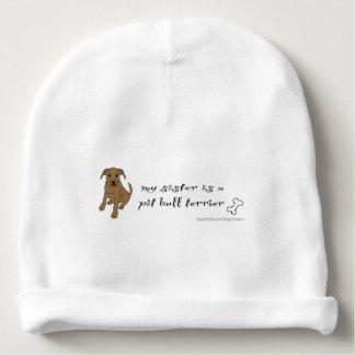 Bonnet De Bébé pitbull