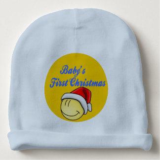 Bonnet De Bébé Première calotte de Noël du bébé