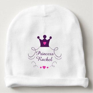 Bonnet De Bébé Princesse rose Crown Tiara Royalty Hearts de bébé