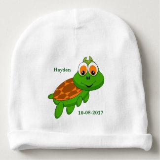 Bonnet De Bébé Sourire mignon de tortue du bébé de l'enfant