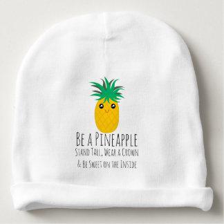 Bonnet De Bébé Soyez un support d'ananas grand soit doux