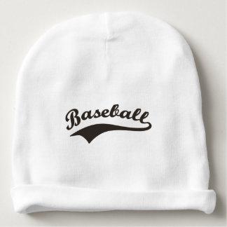 Bonnet De Bébé Typographie de base-ball