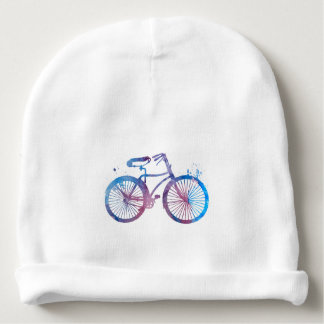 Bonnet De Bébé Une bicyclette