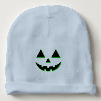 Bonnet De Bébé Visage de citrouille de Halloween