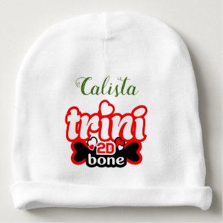 Bonnet De Bébé () Votre nom) Trini à l'os