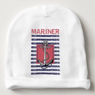 Bonnet Infantile Mariner Rayé Bonnet De Bébé