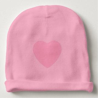 Bonnet pour bébé en coton très doux avec coeur bonnet de bébé