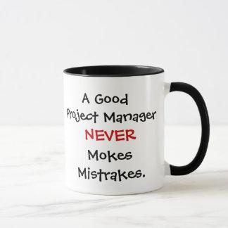 Bons Mokes Mistrakes d'un chef de projet jamais ! Tasse