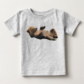 Bons petits animaux d'ours de T-shirt du Jersey de