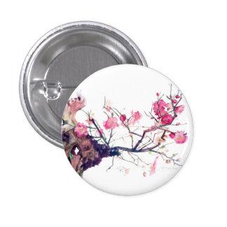 Bonsaïs de fleurs de cerisier de CMCarlson Pin's Avec Agrafe
