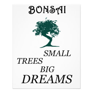 Bonsaïs Prospectus 11,4 Cm X 14,2 Cm