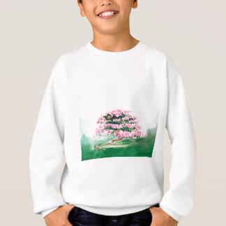 Bonsaïs roses sweatshirt