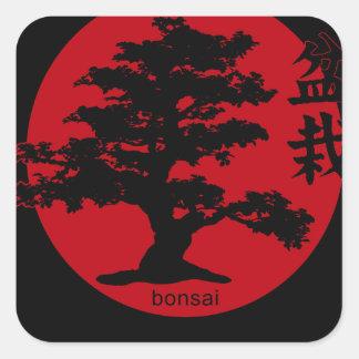 Bonsaïs Sticker Carré