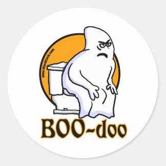 BooDoo Autocollant Rond