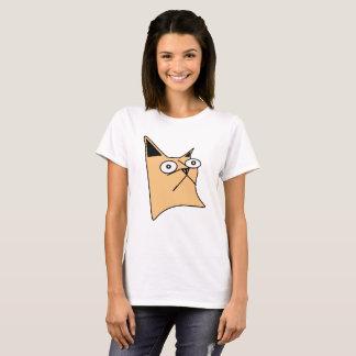 Boogie le T-shirt de base des femmes de chat