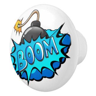 Boom comique de bombe de style d'art de bruit !