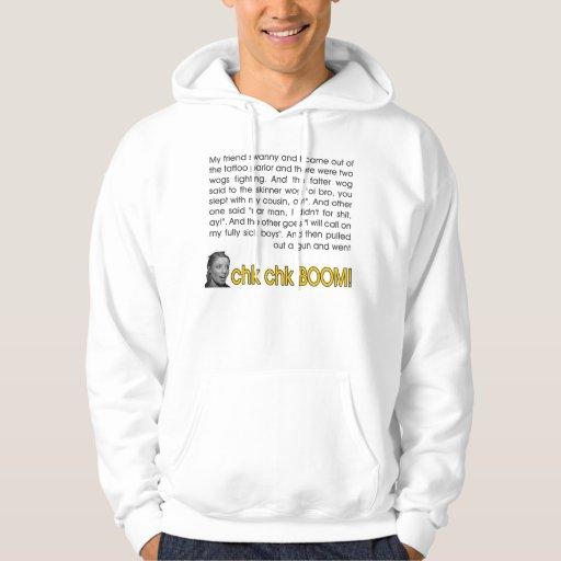 boom de chk de chk hoody sweatshirts avec capuche