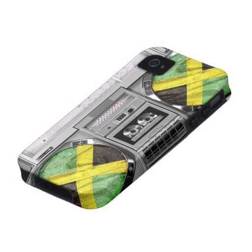 Boombox de la Jamaïque Coques Case-Mate iPhone 4