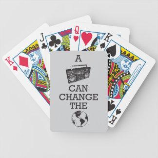 Boombox peut changer le monde jeux de cartes