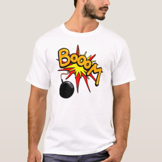 Booom ! T-shirt drôle
