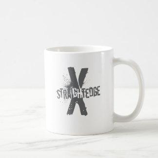 Bord droit X gris-foncé Mug