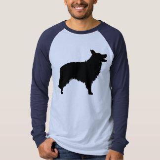 Border collie (noir) t-shirt