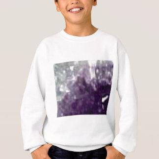 bords en verre pourpres sweatshirt