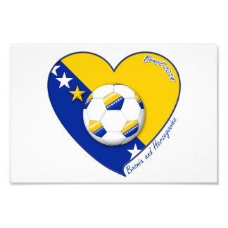 Bosnian Soccer National Team Football BOSNIE» 201 Photo D'art