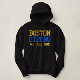 Boston fort NOUS AVONS UN ans Sweatshirt À Capuche Avec Broderie
