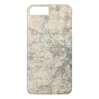 Boston, le Massachusetts Coque iPhone 7 Plus