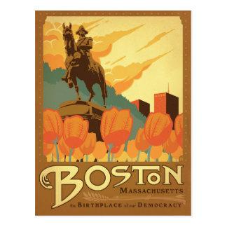 Boston, mA - le lieu de naissance de notre Cartes Postales